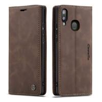 Coffee CaseMe Compact Flip Classy Wallet Case For Galaxy A20 / A30 - 1
