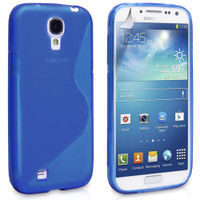 Samsung Galaxy S4 Blue S-Line Curve Case