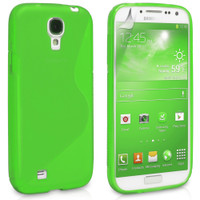 Samsung Galaxy S4 Green S-Line Curve Case