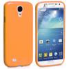 Orange Gloss Gel Case for Samsung Galaxy S4