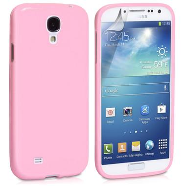 Light Pink Gloss Gel Case for Samsung Galaxy S4