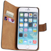 Apple iPhone 6 / 6S Plus Genuine Leather Wallet Case Mobile Phone Cover - 2