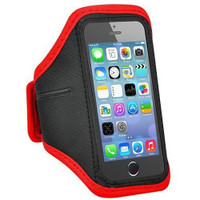 "Red Sports Armband Case for iPhone 6 / 6S Plus 5.5"" Inch Phone Cover"