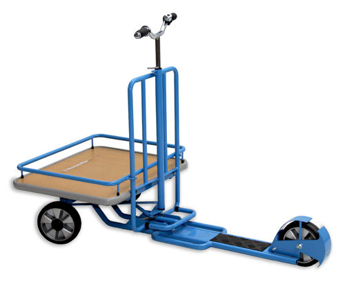 2 Ton Walk Behind Pallet Stacker Electric Forklift Price 1: HanseLifter LS50 Transport Scooter