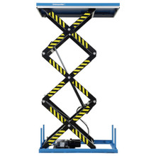 Static Electric Triple Scissor Lift Table lifting up to 1000kg - TRSHT1T