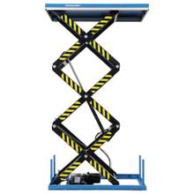 Static Electric Triple Scissor Lift Table lifting up to 1000kg - TRSHT1T
