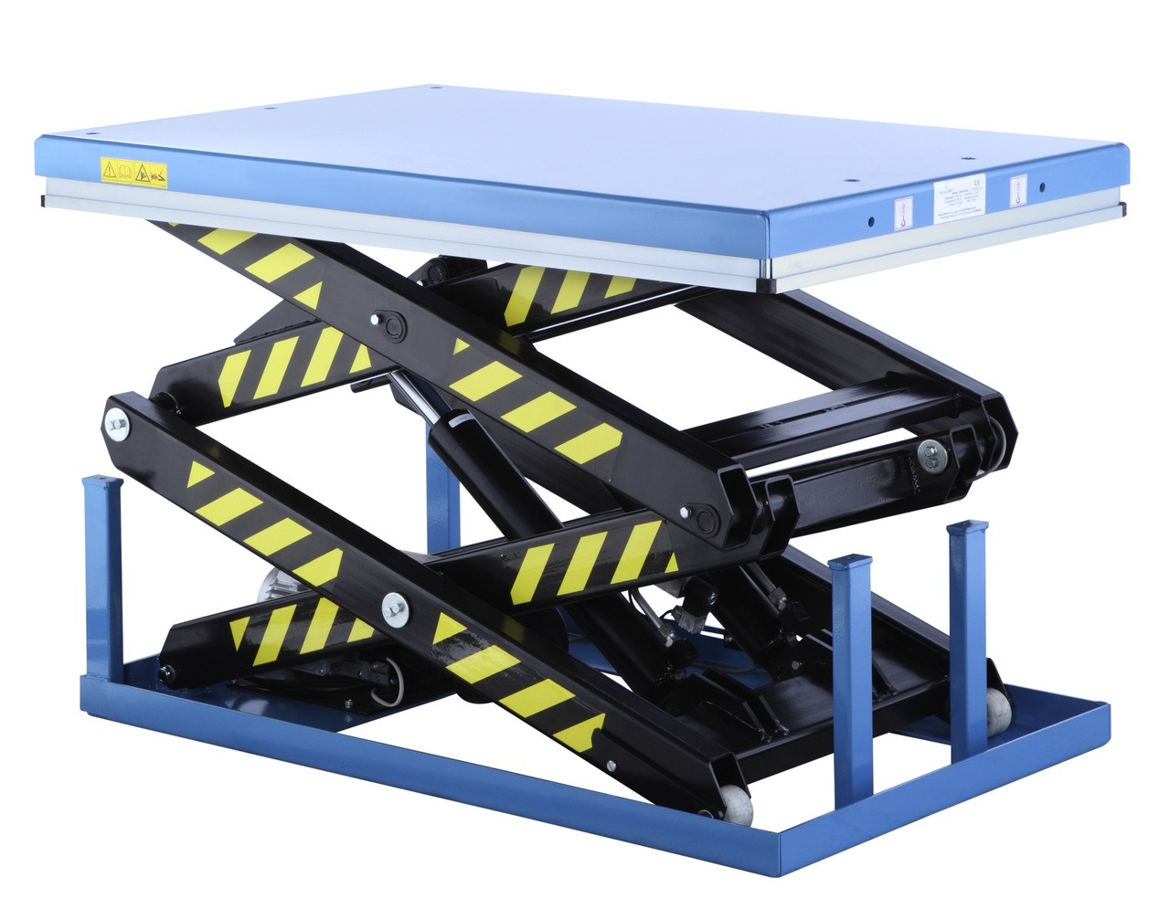 DSHT1T | Static Double Scissor Lift Table