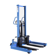 HanseLifter SDJ1016-BS : 1000kg - 1.6m Manual Straddle Pallet Stacker