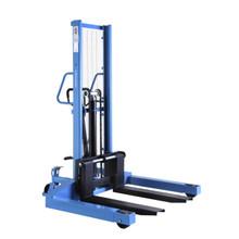 HanseLifter SDJ1016-BS : 1000kg - 1.6m Manual Straddle Pallet Stacker