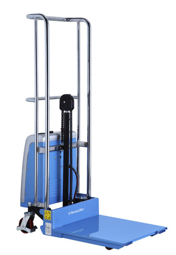 2 Ton Walk Behind Pallet Stacker Electric Forklift Price 1: Semi Electric Mini Stacker Lifting Up To 400kg