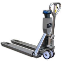 HanseLifter WHP-NR2000 : 2000kg Stainless Steel Weigh Scale Pallet Truck