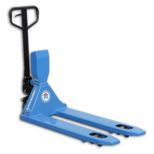 HanseLifter WHP-DM2000 : 2000kg Weigh Scale Pallet Truck with printer