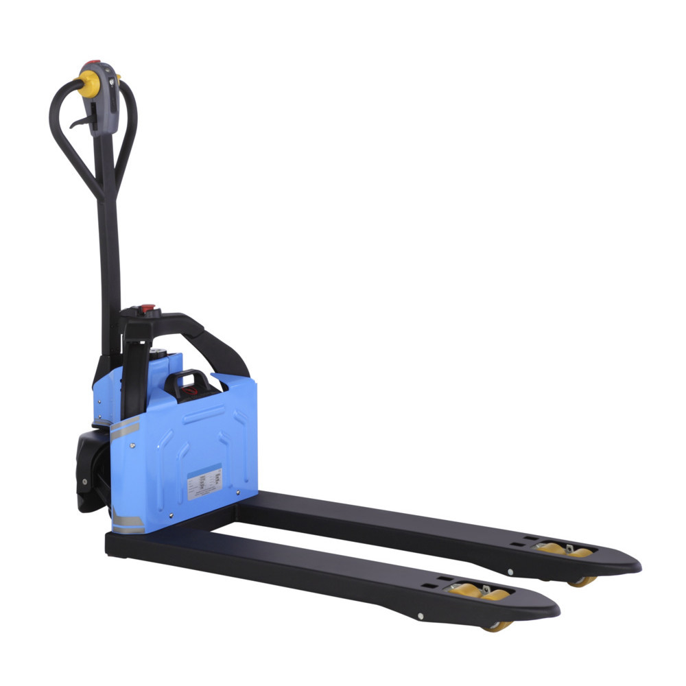 2 Ton Walk Behind Pallet Stacker Electric Forklift Price 1: Electric Pallet Truck Lifting Up To 1200kg