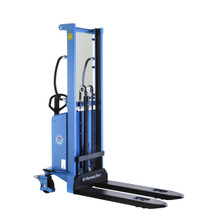 1500kg 3.5m Semi Electric Pallet Stacker