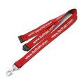 Safety Lanyard Screen Printed With Neck Breakaway Clip - 10mm