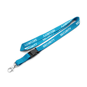 """Security"" Pre-Printed 10mm Polyester Lanyard"