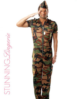 G.I. Guy 3 PC Costume