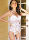 Good Girl Stretch Lace Padded Bridal Bustier | Coquette 1334
