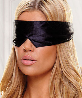 Peekaboo Satin Eye Mask