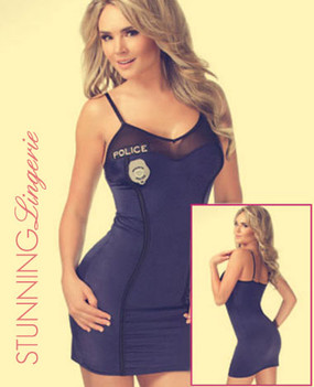 Lycra cop dress Costume Chemise | Stunning Lingerie