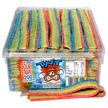 AIT TNT multicolour sour strap 200 confectionery