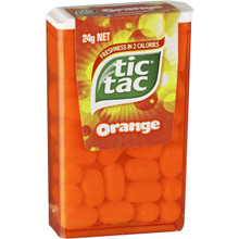 tic tac orange mints single