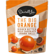 darrell lea choc orange balls 185g
