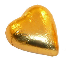 chocolate hearts gold 1kg