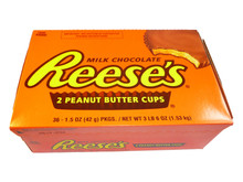 Reese's 2 peanut butter cups box 36 x 42g