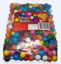 chocolate balls mixed
