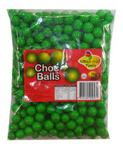 choc balls green lolliland chocolate jaffa