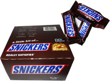 snickers treat size 50 x 18g