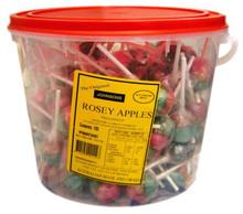 rosey apples lollipops johnsons