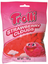 trolli strawberry clouds hang sell 150g