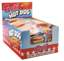 trolli hot dog box