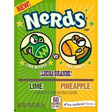 Nerds lime & pineapple 46.7g box