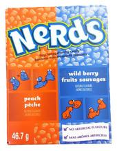 nerds peach and wild berry 46.7g