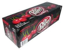 dr pepper cherry soda 12pk