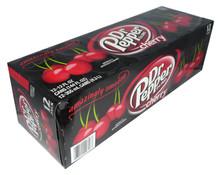 dr pepper cherry soda 12pk
