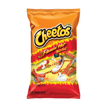 cheetos flamin hot crunchy 226.8g