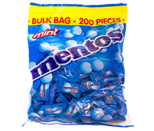 mentos pillowpack mint 200 pieces