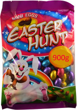 easter hunt mini eggs 900g