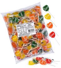 love heart lollipops 1kg