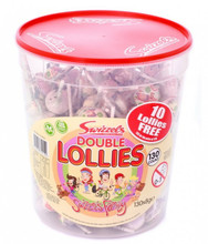 swizzels double lollies lollipop