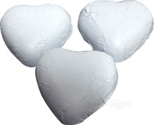 white heart single