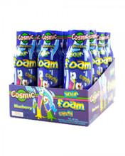 Cosmic sour foam spray blue raspberry 12 pack