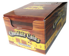 chocolate gold coins 24 x 80g