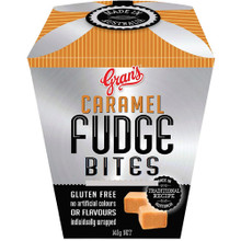 Grans caramel fudge 140g