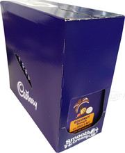 Cadbury coconut rough fruit nut block box