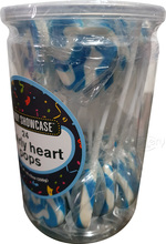 swirly hearts pops blue